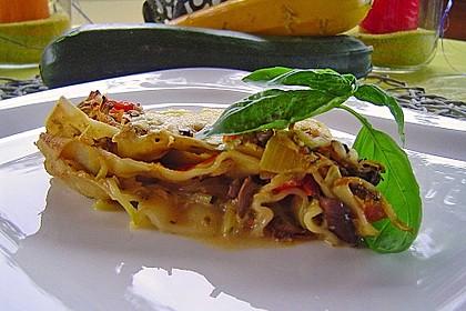 Zucchini - Lasagne ohne Fleisch 11