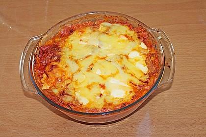Zucchini - Lasagne ohne Fleisch 74