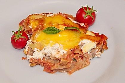 Zucchini - Lasagne ohne Fleisch 28