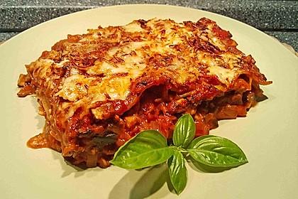 Zucchini - Lasagne ohne Fleisch 10