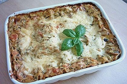 Zucchini - Lasagne ohne Fleisch 42