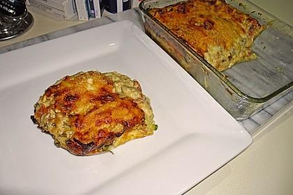 Zucchini - Lasagne ohne Fleisch 81