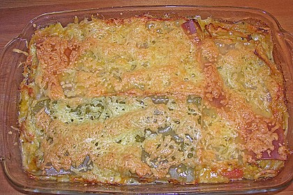 Zucchini - Lasagne ohne Fleisch 84