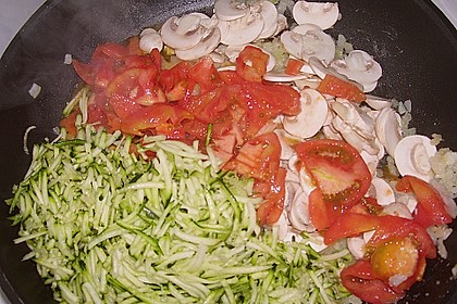 Zucchini - Lasagne ohne Fleisch 76