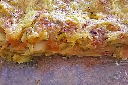Zucchini - Lasagne ohne Fleisch 73
