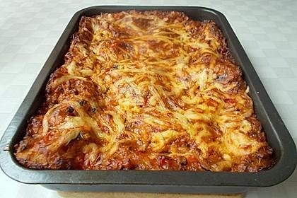 Zucchini - Lasagne ohne Fleisch 14
