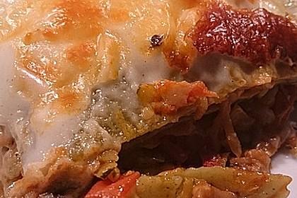 Zucchini - Lasagne ohne Fleisch 27