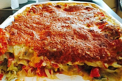 Zucchini - Lasagne ohne Fleisch 40