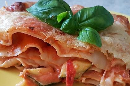 Zucchini - Lasagne ohne Fleisch 3