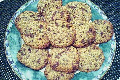 Haferflocken Cookies 24
