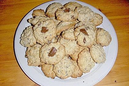 Haferflocken Cookies 15