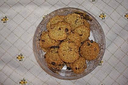 Haferflocken Cookies 17