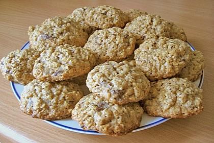 Haferflocken Cookies 14