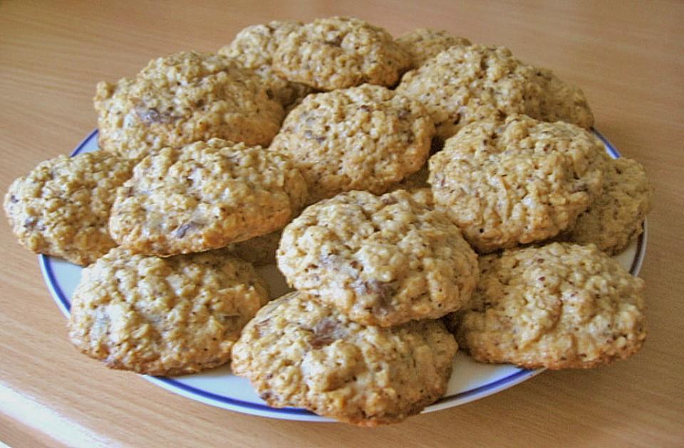 haferflocken cookies rezept mit bild von angeleye. Black Bedroom Furniture Sets. Home Design Ideas