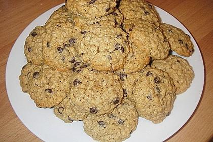 Haferflocken Cookies 0