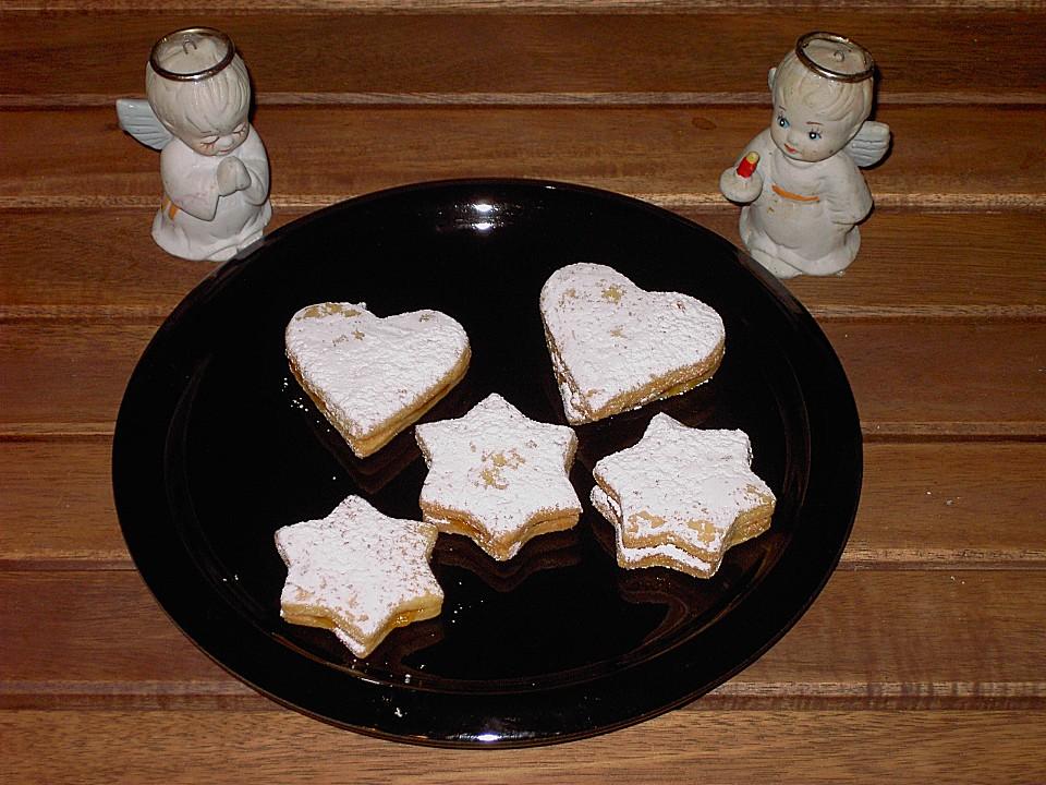 aprikosen herzen f r weihnachten rezept mit bild