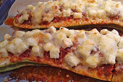 Gefüllte Zucchini 51