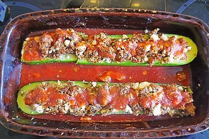 Gefüllte Zucchini 78