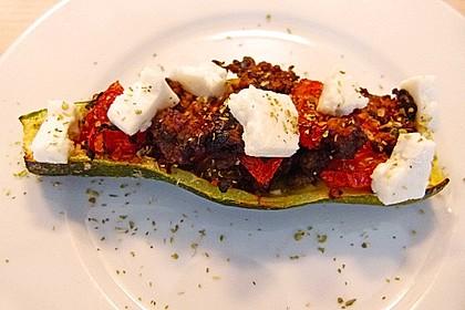 Gefüllte Zucchini 57