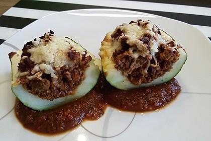 Gefüllte Zucchini 3