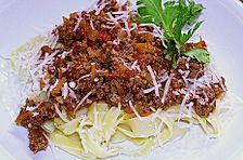 Gemüse - Bolognese - Spaghetti - Sauce