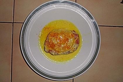 Kasseler mit Ananas in Käse - Soße 3