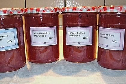 Himbeer - Melonen - Konfitüre
