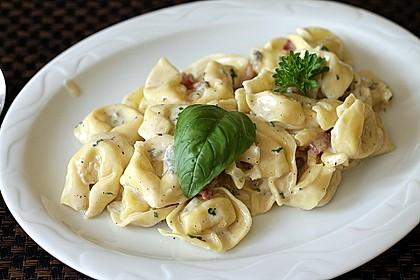 Tortellini in Gorgonzolasauce 1