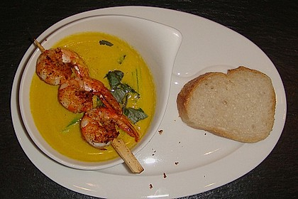 Curry - Zitronengras Suppe 2