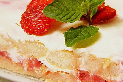 Erdbeer - Rhabarber - Tiramisu 3