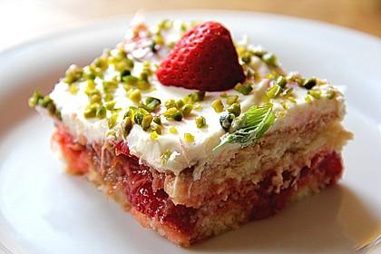 Erdbeer - Rhabarber - Tiramisu 2