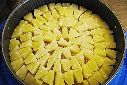 Ananas - Kokos - Sahnetorte 7