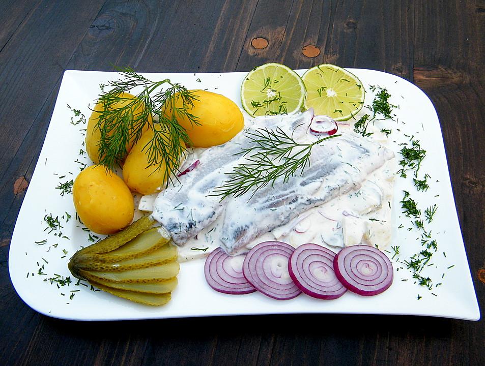 Matjesfilet Nach Hausfrauenart Von Wichtel Chefkoch De