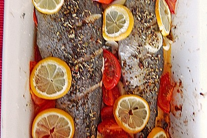 Würzige Forelle aus dem Ofen 16