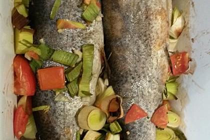 Würzige Forelle aus dem Ofen 8