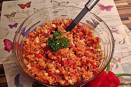 Griechischer Reissalat 1