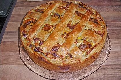 Blätterteig - Pastete 3