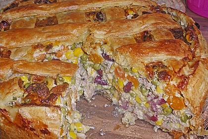Blätterteig - Pastete 4