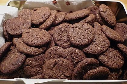 Chocolate - Cookies mit Kürbiskernen und Habaneros 5