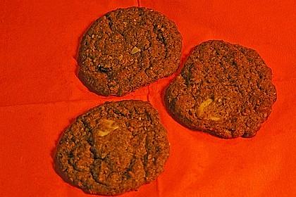 Chocolate - Cookies mit Kürbiskernen und Habaneros 2
