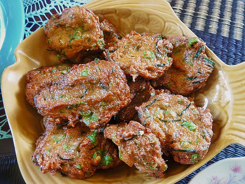 thailändische fischkuchen - thai- fishcakes (rezept mit bild ... - Thailändische Küche Rezepte