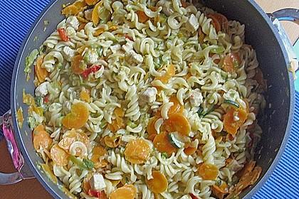 Bunte Gemüse - Nudel - Pfanne 3