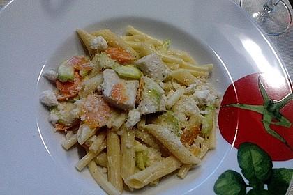 Bunte Gemüse - Nudel - Pfanne 2
