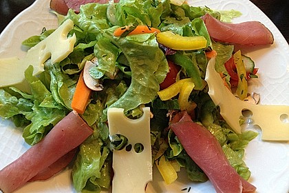 1, 2, 3 - Salatdressing 4
