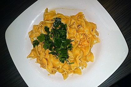 Pasta mit Knoblauch - Tomaten - Shrimps 14