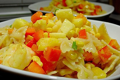 Ananas - Scampi - Curry - Nudelsalat 3