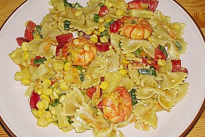 Ananas - Scampi - Curry - Nudelsalat 1