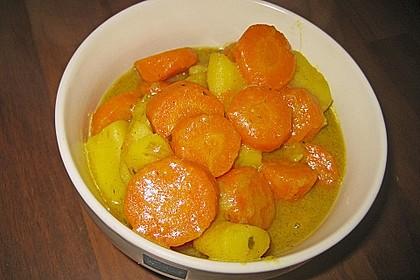 Möhren - Kartoffel - Kokos - Curry 5