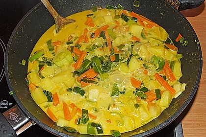 Möhren - Kartoffel - Kokos - Curry 11