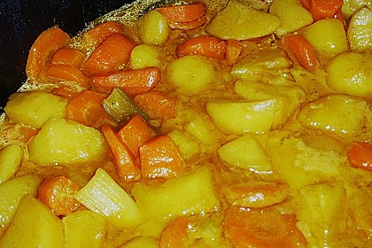 Möhren - Kartoffel - Kokos - Curry 9